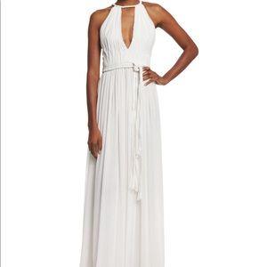 Alice + Olivia White Nomi Maxi Dress Size 2